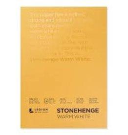 Legion Paper Legion Stonehenge Warm White Pad 5x7