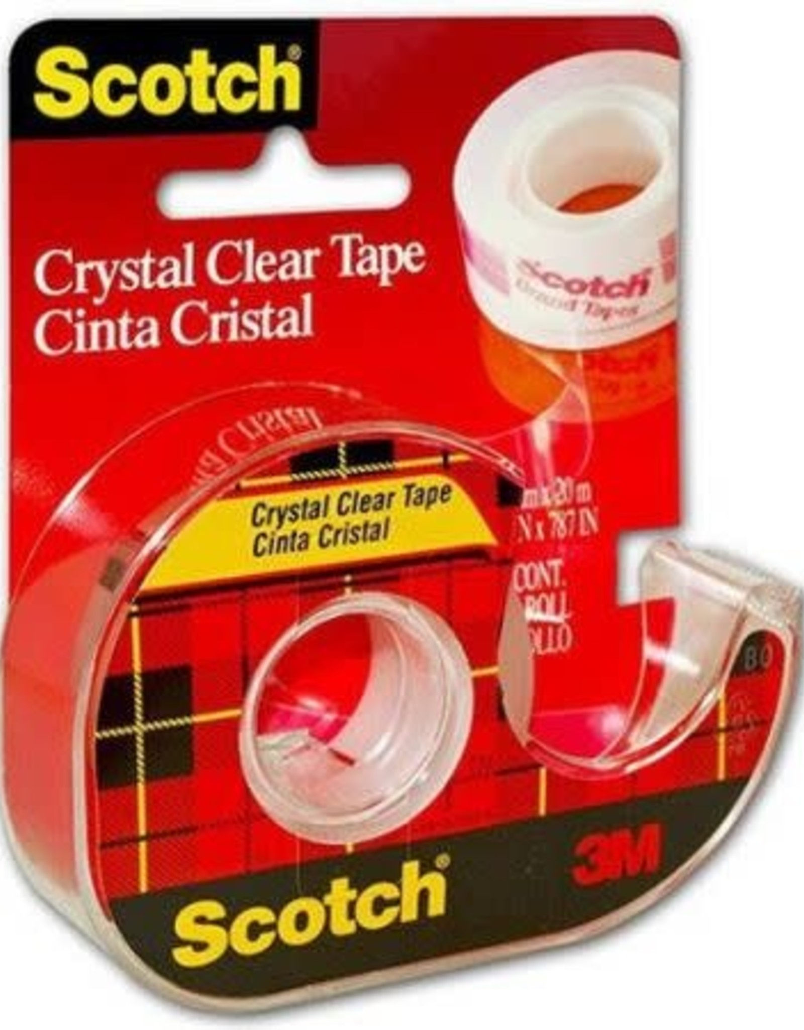 Three M Three M Transparent Scotch Tape 1/2'' x 450''