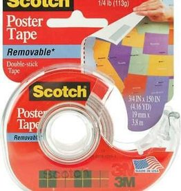 REMOVABLE POSTER TAPE ROLL