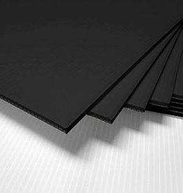 Coroplast Black 24x32