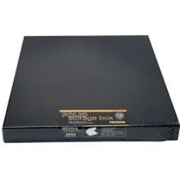 "Lineco Museum Storage Box, Black, 9.5"" X 12.5"" X 3"""