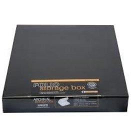 "Lineco Museum Storage Box, Black, 11.5"" X 17.5"" X 3"""