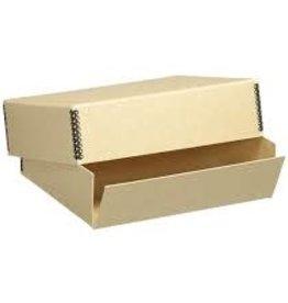 "Lineco Museum Storage Box, Tan, 9.5"" X 12.5"" X 3"""