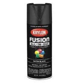 Krylon Krylon Fusion Satin Black