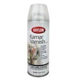 Krylon Krylon Kamar Varnish, Fine Art Spray, 11 Ounce