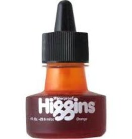 Higgins Higgins ORANGE INK 1OZ