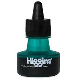 Higgins Higgins GREEN INK 1oz