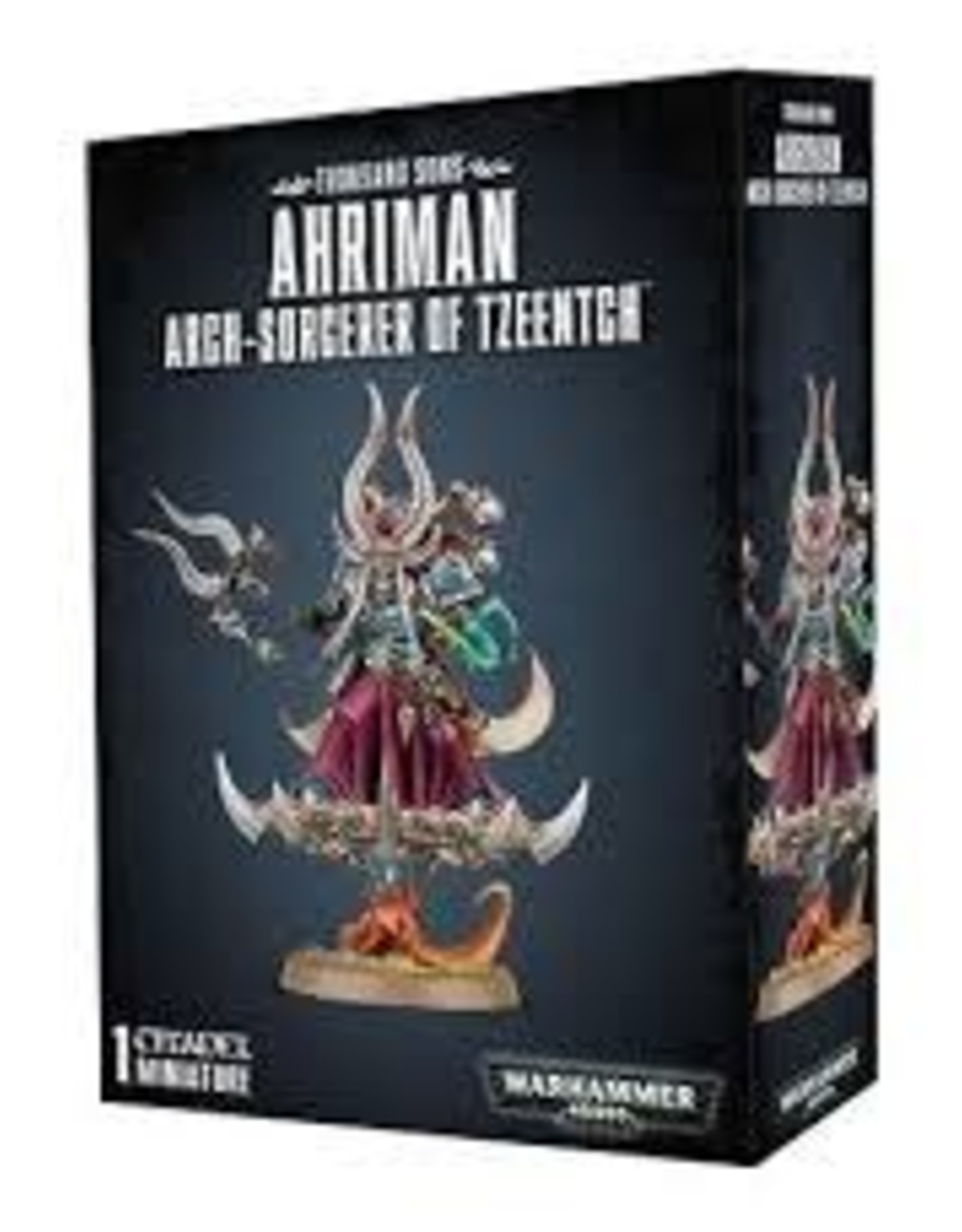 Games Workshop Warhammer Age of Sigmar AHRIMAN ARCHSORCERER OF TZEENTCH