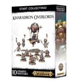 Games Workshop Warhammer AOS START COLLECTING KHARADRON OVERLORDS