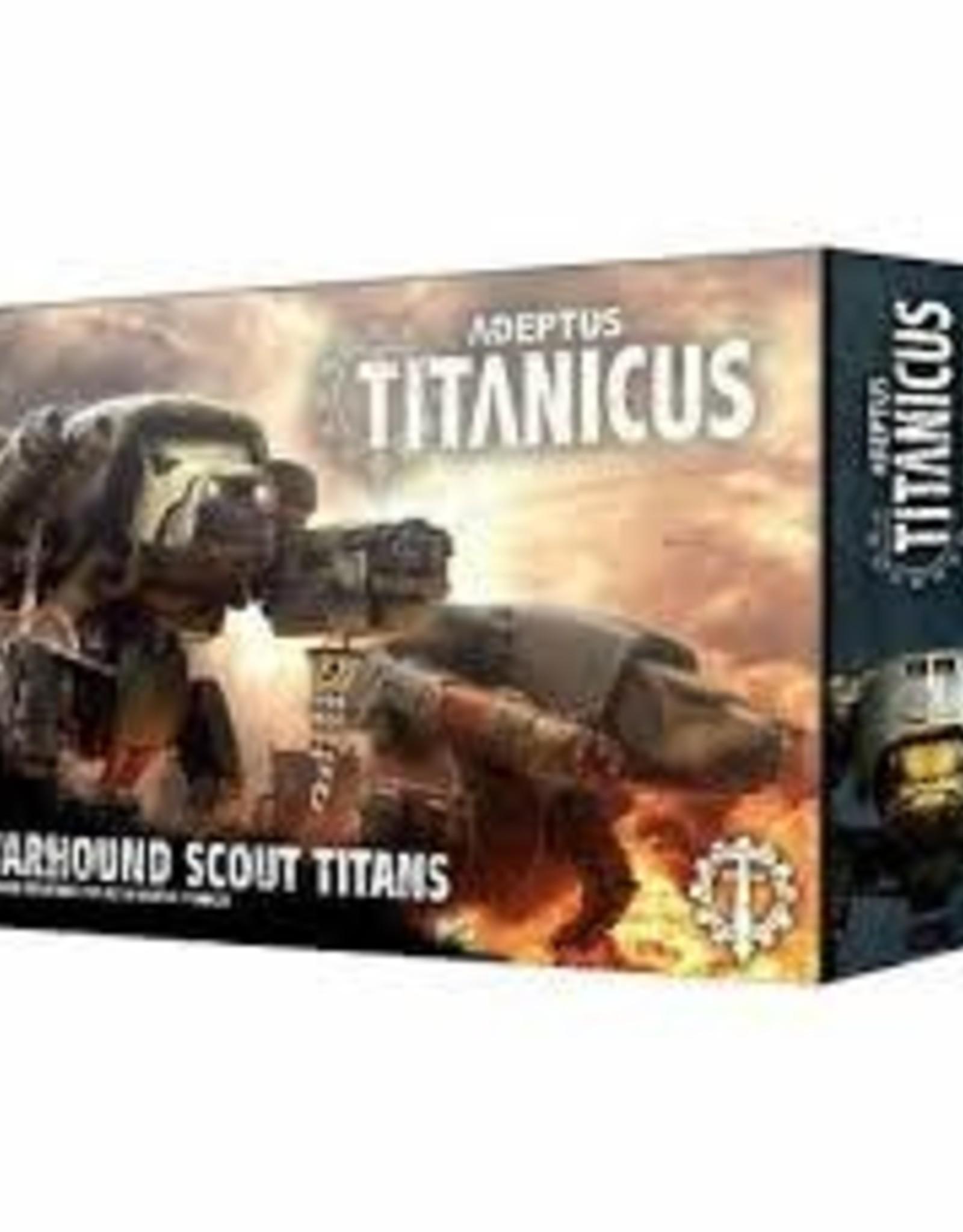 Games Workshop Warhammer 40,000 Adeptus Titanicus Warhound Scout Titans