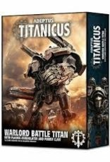 Games Workshop Warhammer 40,000 Adeptus Titanicus Warlord Battle Titan with Plasma Annihilator and Power Claw