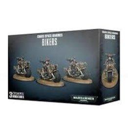 Games Workshop Warhammer 40,000 Chaos Space Marines Bikers