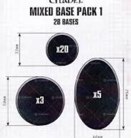 Games Workshop Citadel Mixed Base Pack 1