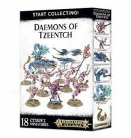 Games Workshop Warhammer 40,000 Start Collecting Daemons of Tzeentch Miniature