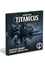 Games Workshop Warhammer 40,000 Adeptus Titanicus Acastus Knight Command Terminal Pack 400-31-60