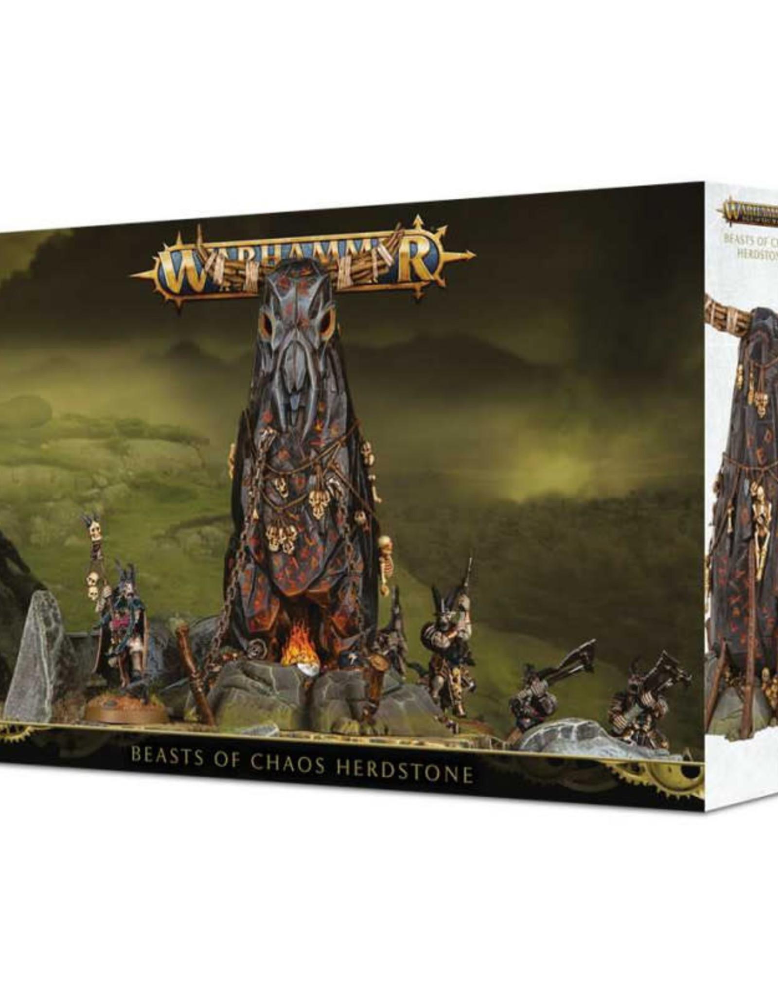 Games Workshop Warhammer Age of Sigmar Beasts of Chaos Herdstone