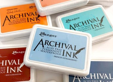 Ranger Archival Ink Pads & Mini Pads