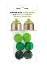 Montana 6 GREEN CAP SET