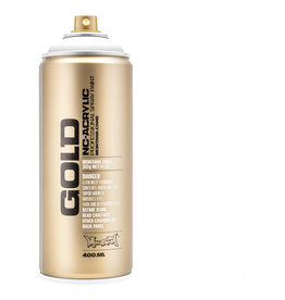 Montana MT GOLD ACRYL SHOCK WHT PURE