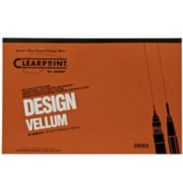 1000H Clearprint Design And Sketch, 11'' x 17'' Pad