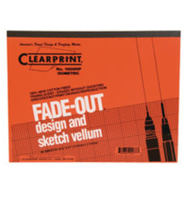 Clearprint 1000H Fade-Out Design and Sketch Vellum Isometric 8.5x11