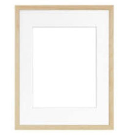 Framatic Woodworks Natural 8x10 (5x7)