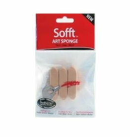 PanPastel Sofft Tools Sofft Sponge Bar - Round X3