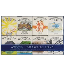 Winsor & Newton WN Drawing Ink - Set No.2 of 8