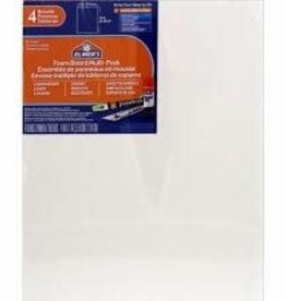 "X-Acto 3/16"" Foam Board, White, 11"" X 14"" 4pk."