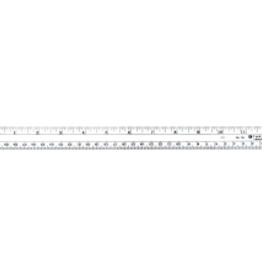 "Wescott 12""/30cm  Flexible Inch/ Metric Ruler"