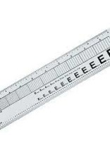 "Wescott 12"" Graphic Arts Ruler"