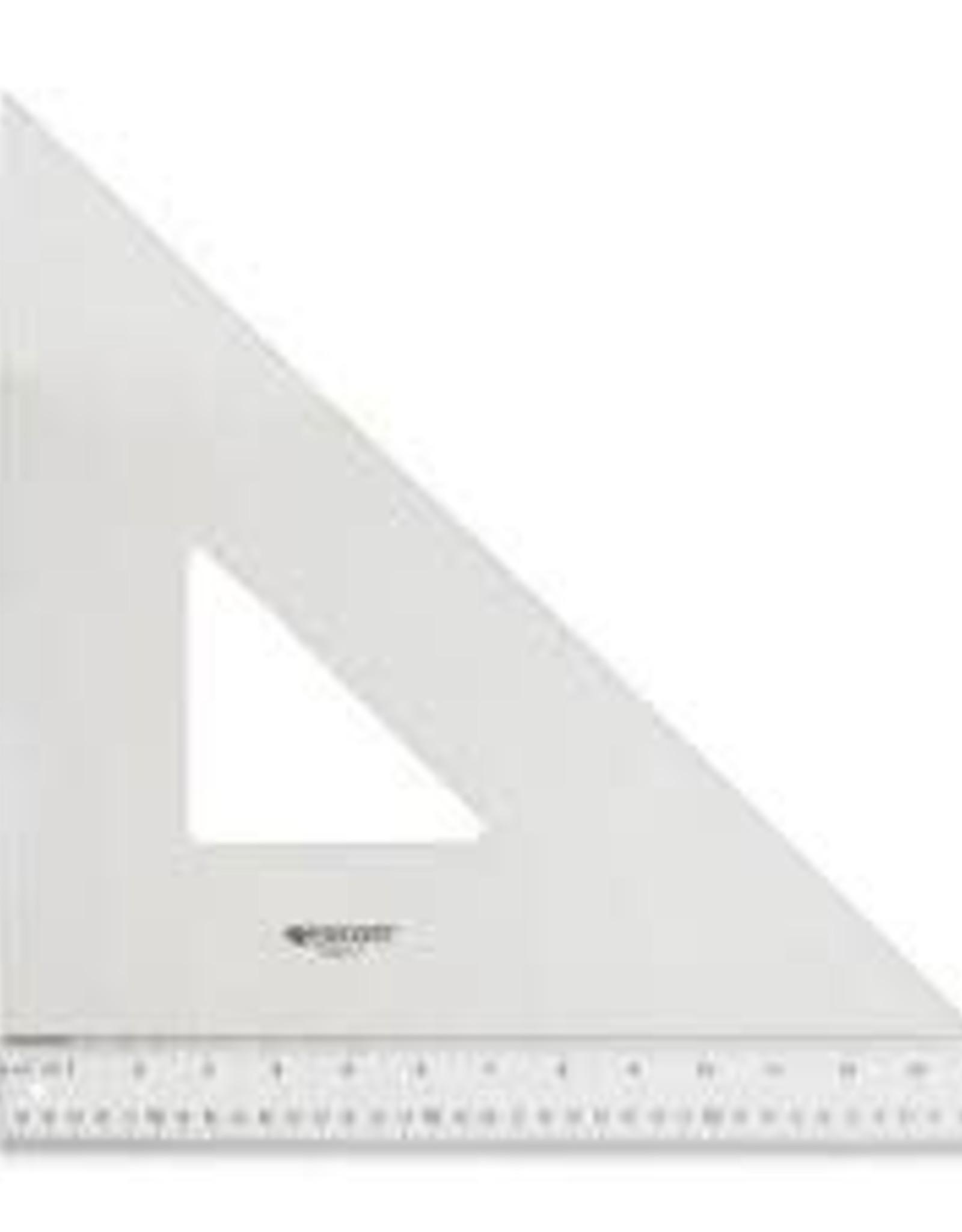 "Wescott 14"" Professional Triangle-45/90"