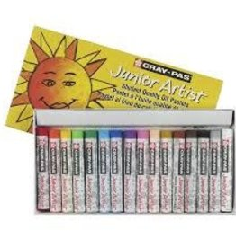 Sakura Craypas Junior Artist 16 Pc Set 16 Colors