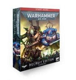 Games Workshop Warhammer 40,000 Warhammer  Recruit Edition Starter Set