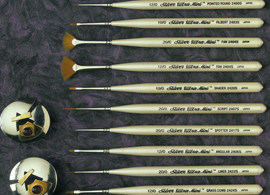 Silver Brush Ltd 2400 Ultra Mini Collection