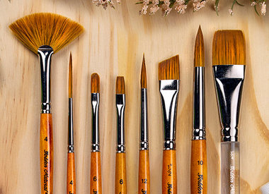 Silver Brush Ltd 2000 Golden Natural Collection