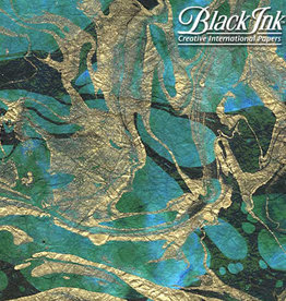 "Marbled Momi - Tidal Wave 18""x25"" Decorative Paper"