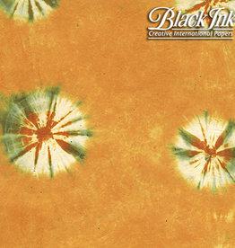 "Tie Dye - Mango Orange 19""x29"" Decorative Paper"