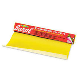 """SARAL TRANSFER PAPER-YELLOW 12"""""""