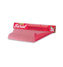 """SARAL TRANSFER PAPER-RED12"""""""