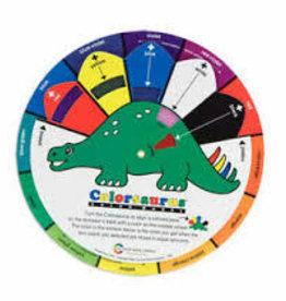 """COLOR WHEEL COMPANY Color Wheel Colorsaurus Children Color Wheel, 91/4"""""""