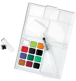 Sakura Assorted Watercolors Field Sketch Set With Brush 12 PC