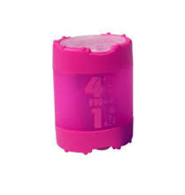 KUM Kum 4 in 1 Sharpener with Waste Container 1 Piece Assorted Colors