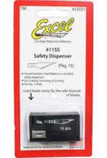 #21 Stainless Steel Honed Blade - 15 pcs.  Dispenser
