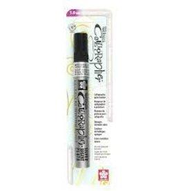 Sakura Pentouch Calligrapher Med 5.0Mm Silver