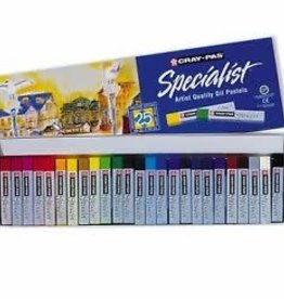 Sakura Craypas Specialist 25 Pc Set 25 Colors