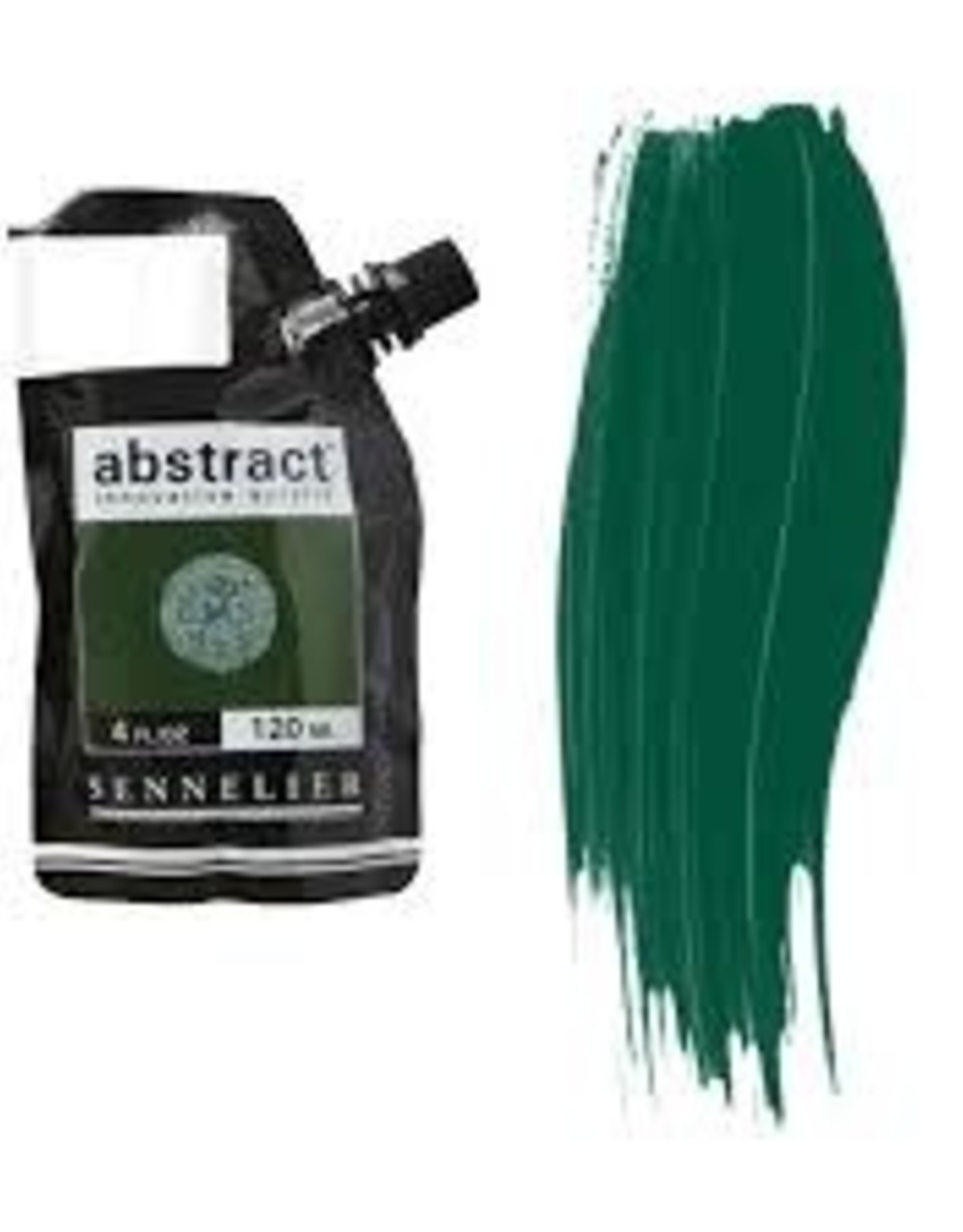 Sennelier Abstract 120ml Burnt Green Earth