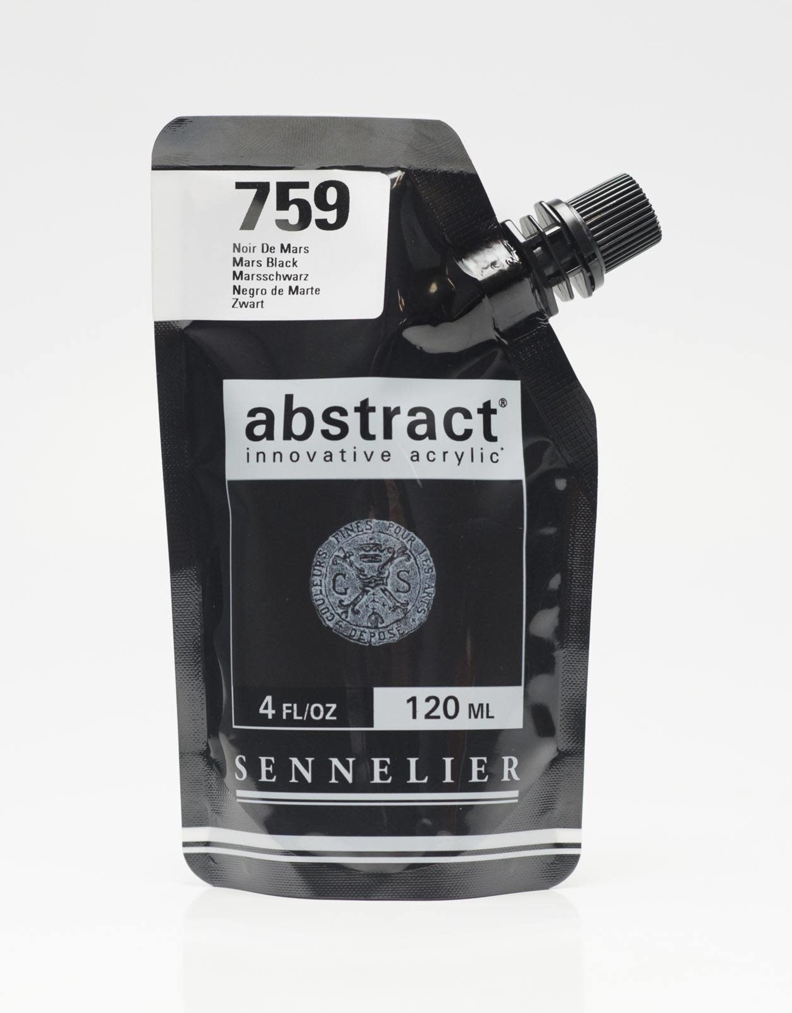 Sennelier Abstract 120ml Mars Black
