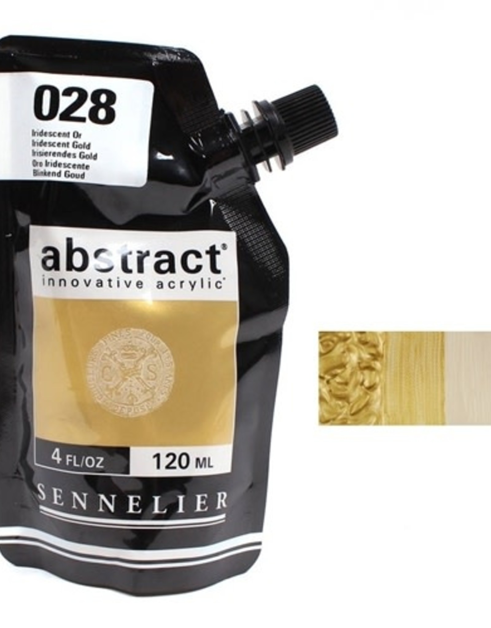 Sennelier Abstract 120ml Iridescent Gold