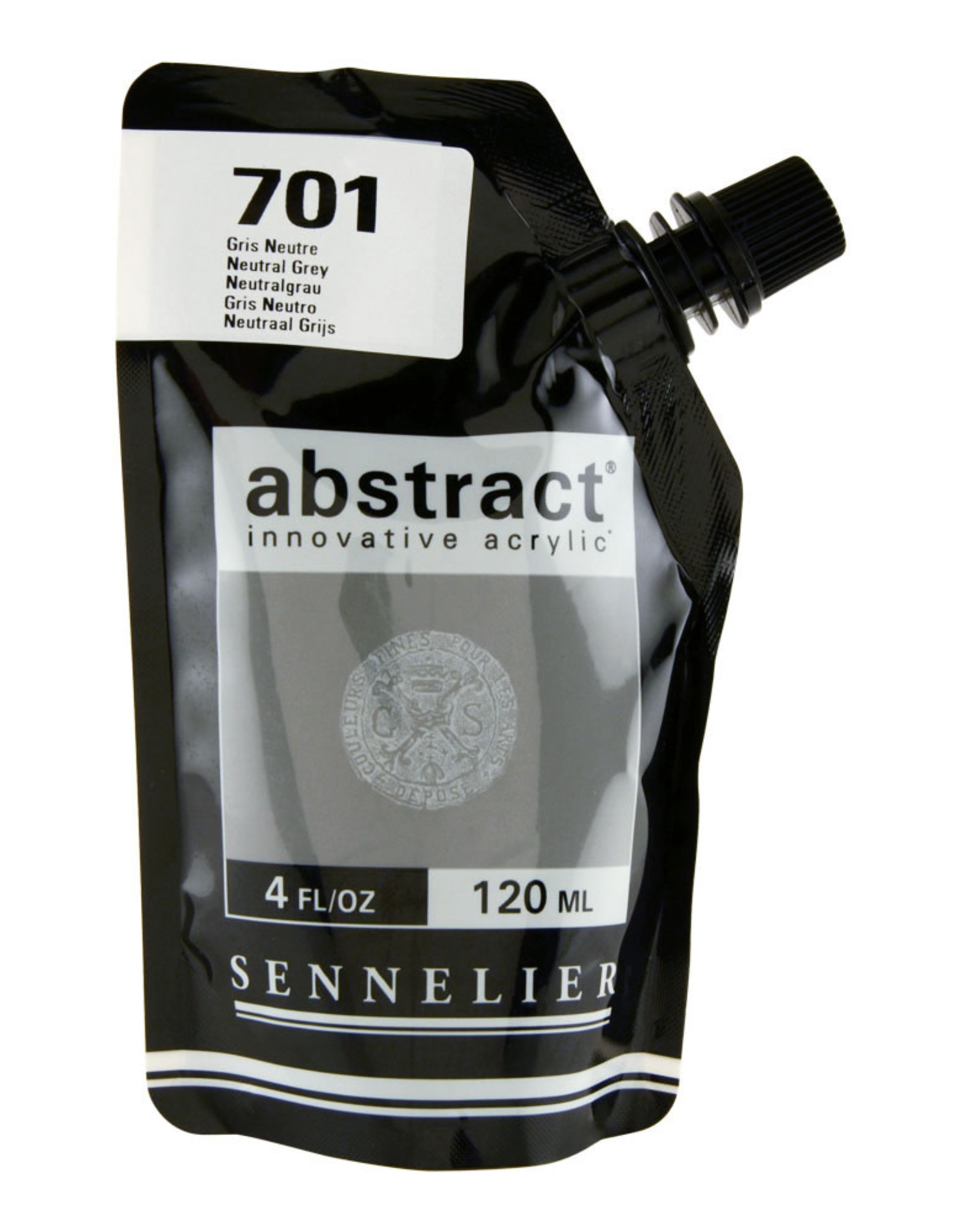 Sennelier Abstract 120ml Neutral Grey
